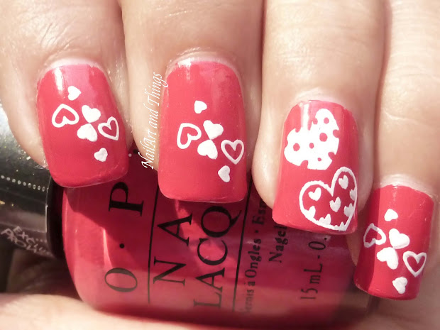 Nailart And Valentine Day Nail Art