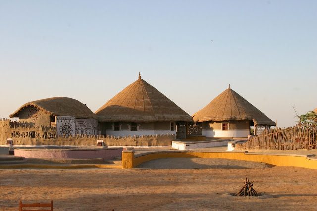 Maha Rann Utsav is organized by Gujarat tourism every year in Dhordo village in Kutch