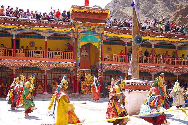 Hemis - Summer festival in India