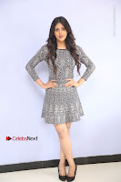 Actress Chandini Chowdary Pos in Short Dress at Howrah Bridge Movie Press Meet  0037.JPG