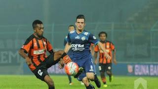 Perseru Serui vs Arema FC 2 - 0