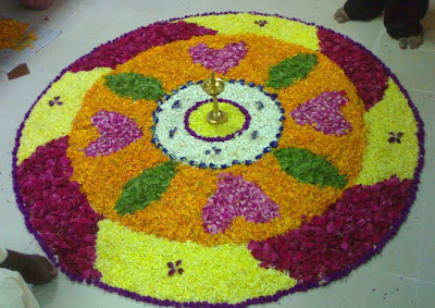Athapookkalam Pictures or Floral Designs for Onam