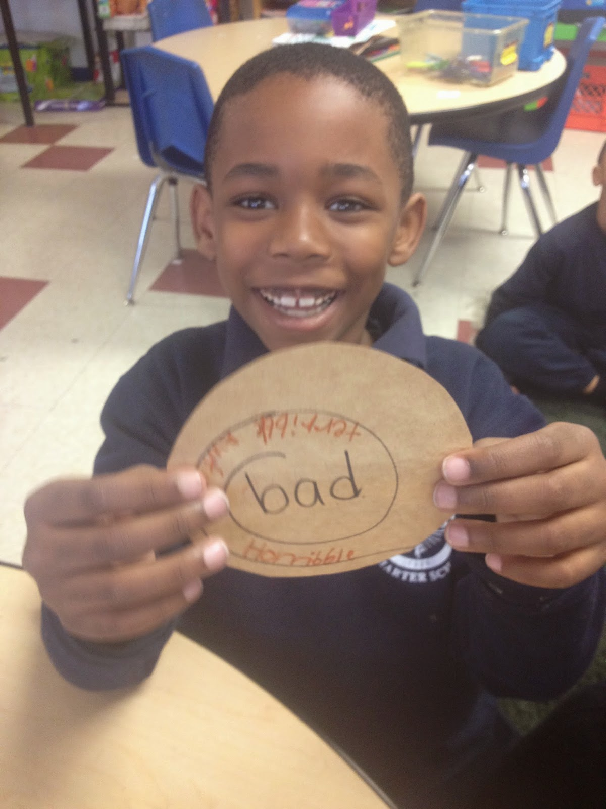 First Graders Are Fabulous Synonyms And Antonyms