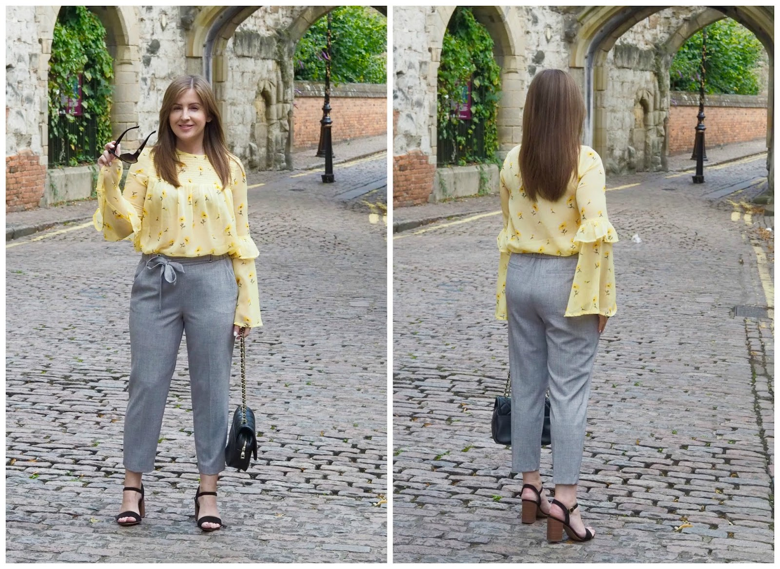 fashion styling \ petite \ cropped trouser \ fashion blogger \ styling the cropped trouser \ Priceless Life of Mine \ Over 40 lifestyle blog