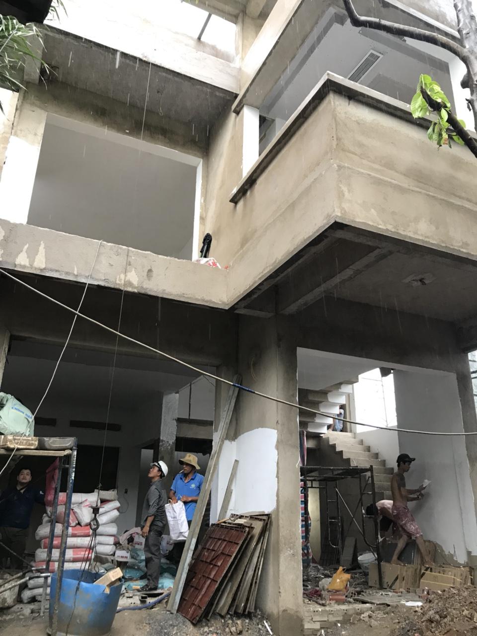 Thiết kế và xây nhà trọn gói Mr Sơn