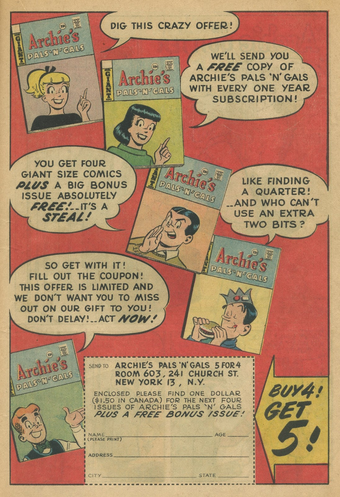 Read online Archie (1960) comic -  Issue #152 - 19