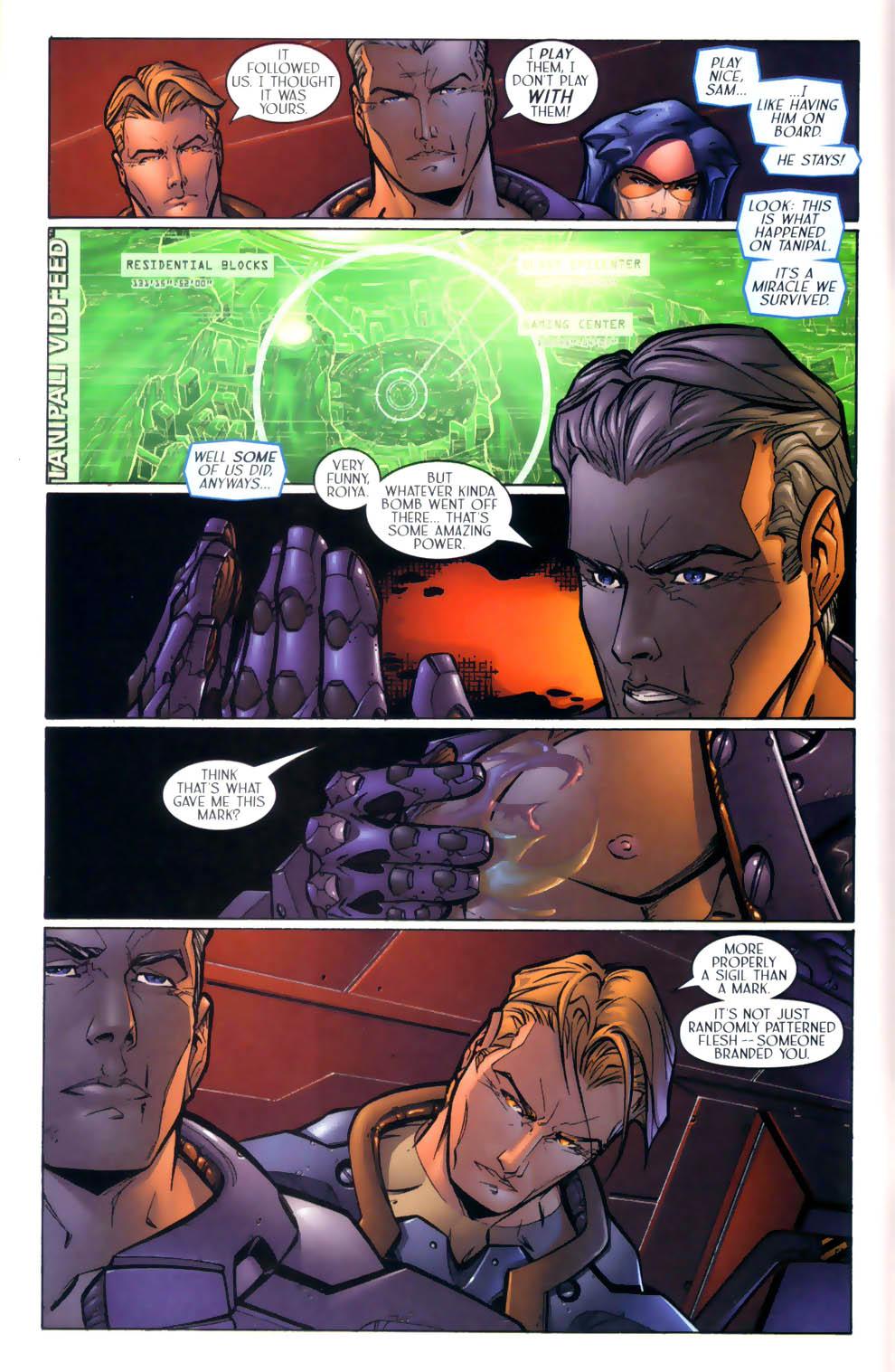 Read online Sigil (2000) comic -  Issue #2 - 9