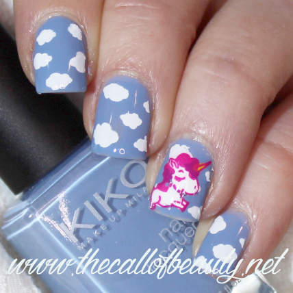 Nail Art Ideas: Spring Unicorn