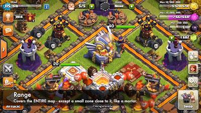 Strategi Menggunakan Eagle Artillery Pada Game Clash of Clans