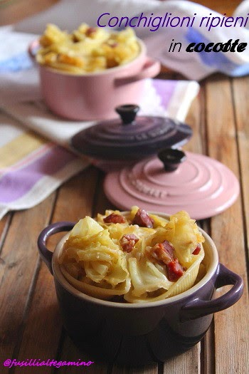 Pasta in cocotte