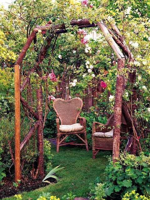 Sala con plantes, naturaleza