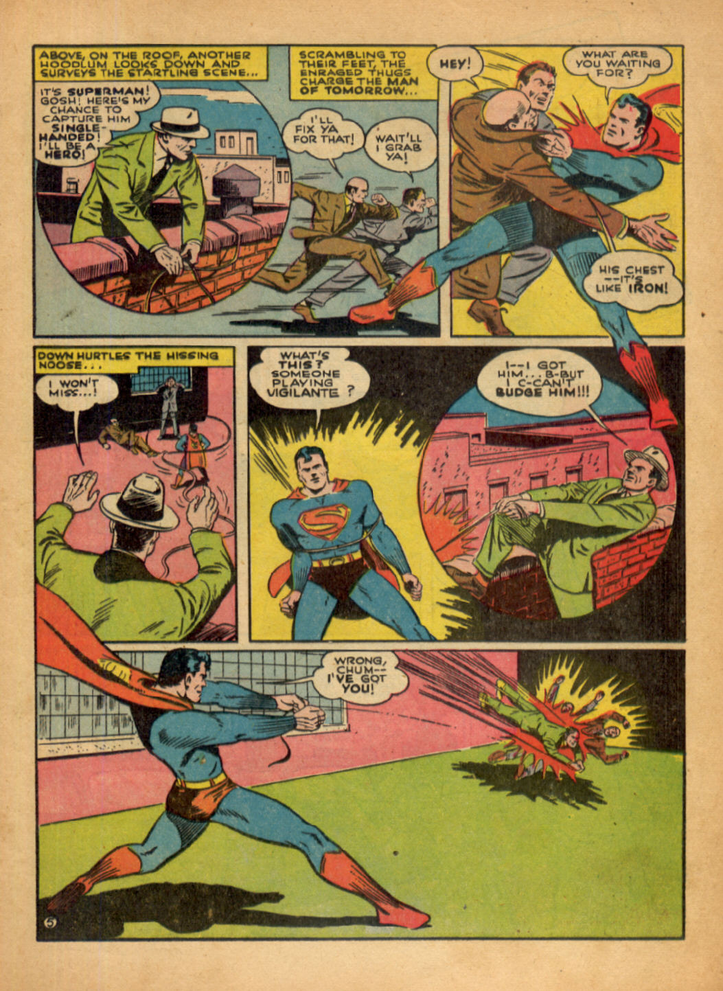 Read online Action Comics (1938) comic -  Issue #48 - 7