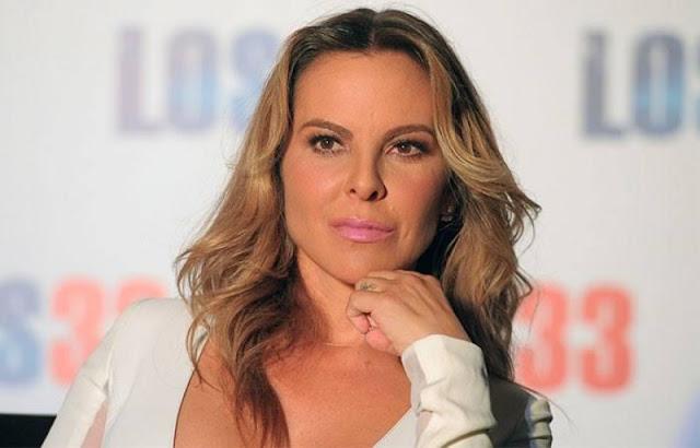 El gobierno de Peña Nieto me ha amenazado de muerte, dice Kate del Castillo