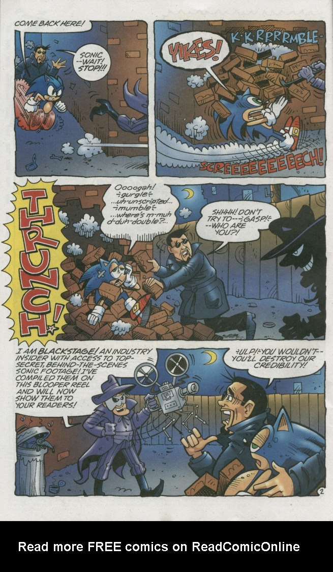 Read online Sonic The Hedgehog comic -  Issue #158 - 30