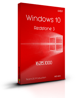 Windows 10 RedStone 3 AIO Full Version Terbaru ( Ver. 1709 build 16299)