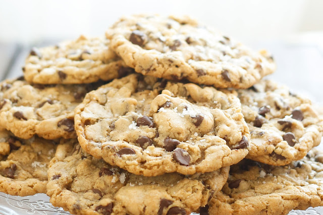 Ultimate Salted Chocolate Chip Cookies are giant bakery-style cookies ...