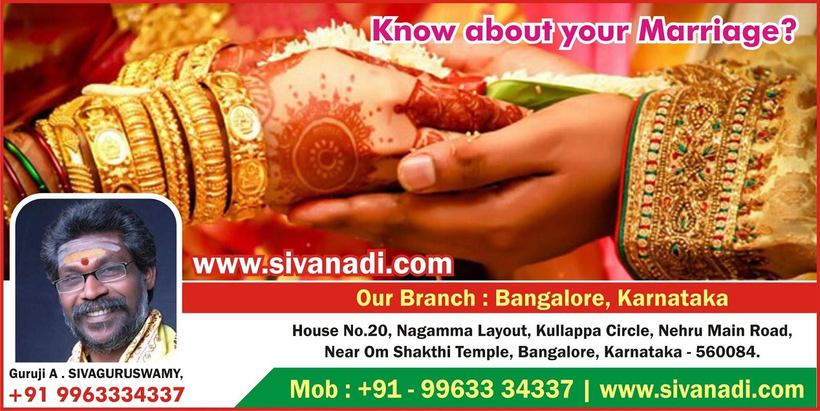 Nadi jyotish in bangalore dating 4