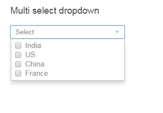 Make It Easy: Multiselect checkbox dropdown component using