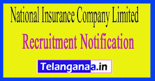 National Insurance Company Limited NICL Recruitment Notification 2017