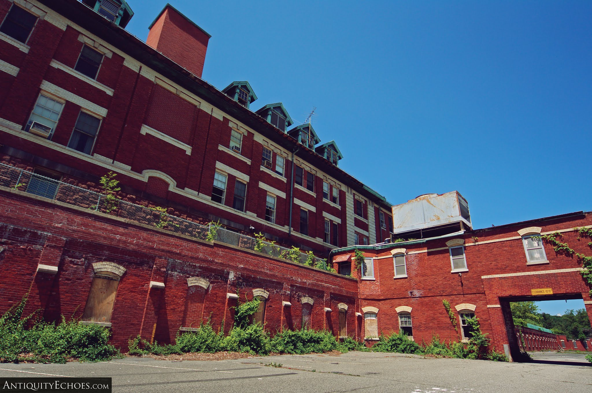 Overbrook Asylum - Rear of Admin
