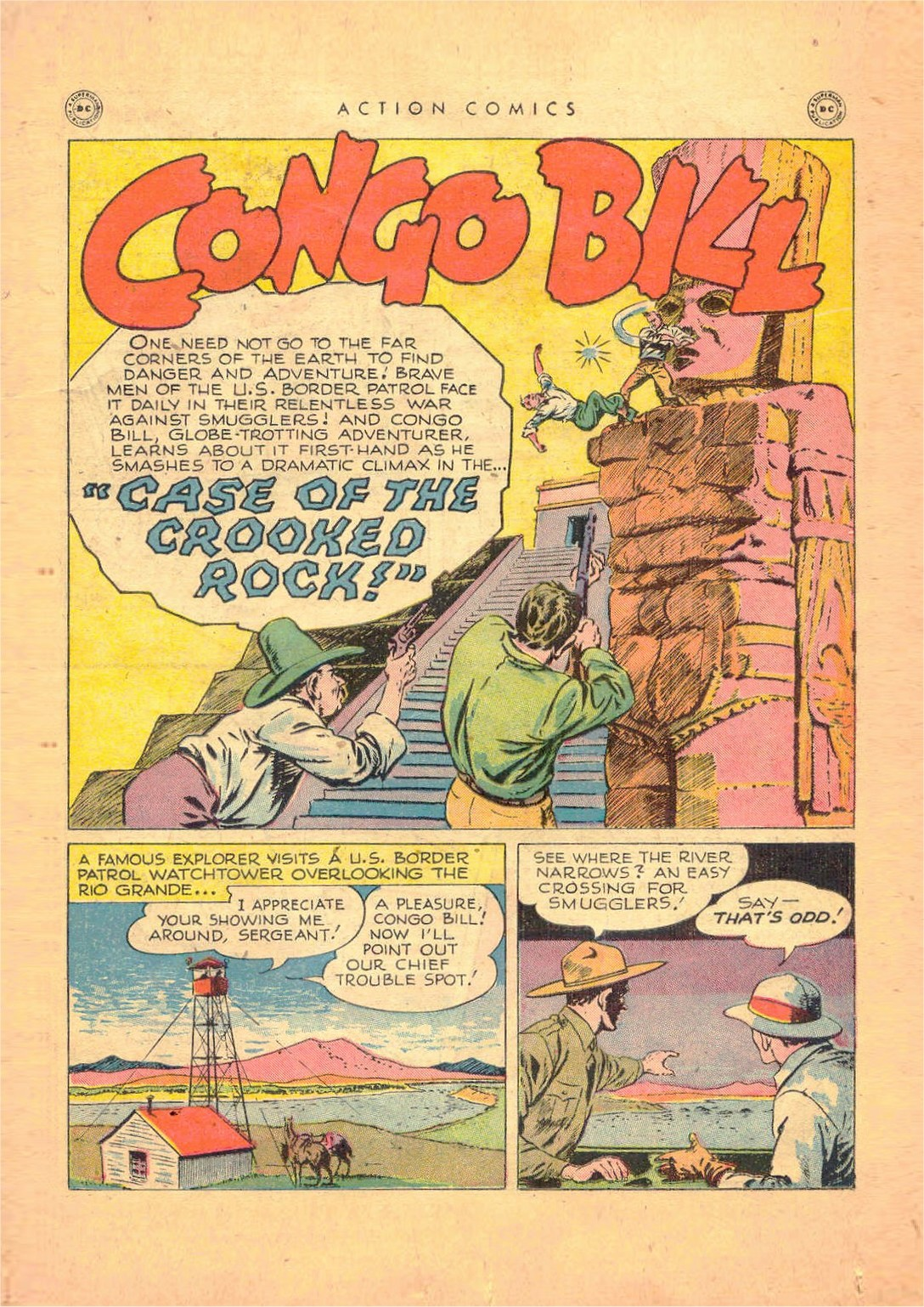 Read online Action Comics (1938) comic -  Issue #124 - 35