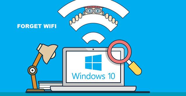 Cara Forget WiFi di Windows 10 Dengan Mudah