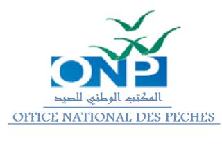 المكتب الوطني للصيد - ONP- office national des peches