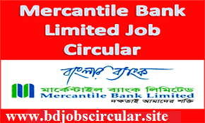 Mercantile Bank Job Circular 2016