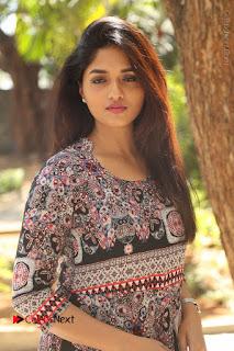 Actress Sunaina Latest Stills in Floral Dress at Pelliki Mundu Prema Katha Trailer Launch  0013.JPG