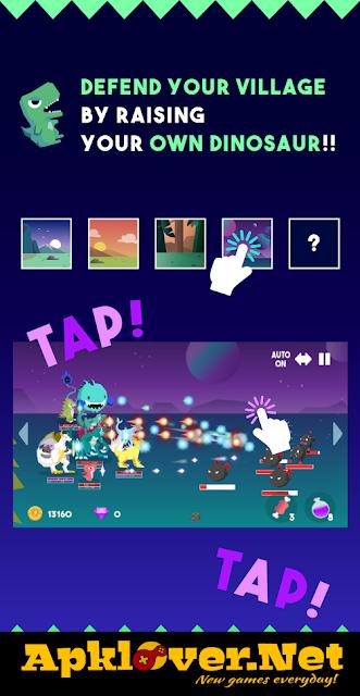 Tap Tap Dino : Defender APK MOD unlimited money