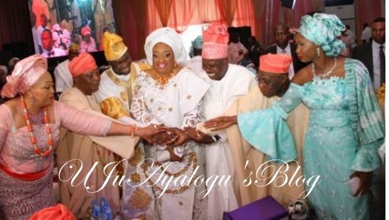 PHOTOS: Obasanjo's son marries Baba Ijebu's daughter despite mother's threats