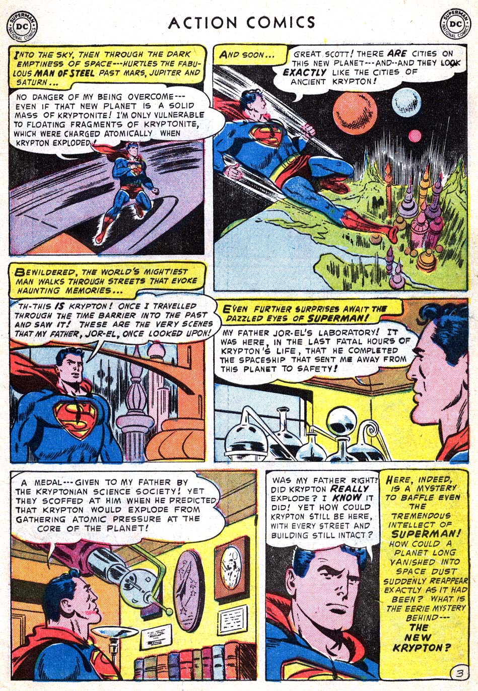 Action Comics (1938) 182 Page 4