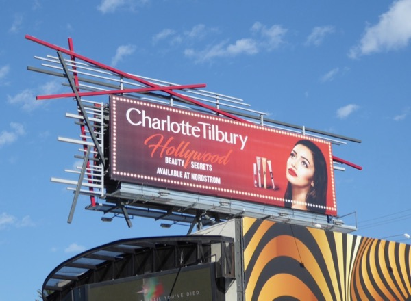 Charlotte Tilbury Hollywood Beauty billboard