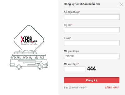 Hướng dẫn kiếm tiền với trang mua vé online XeCa