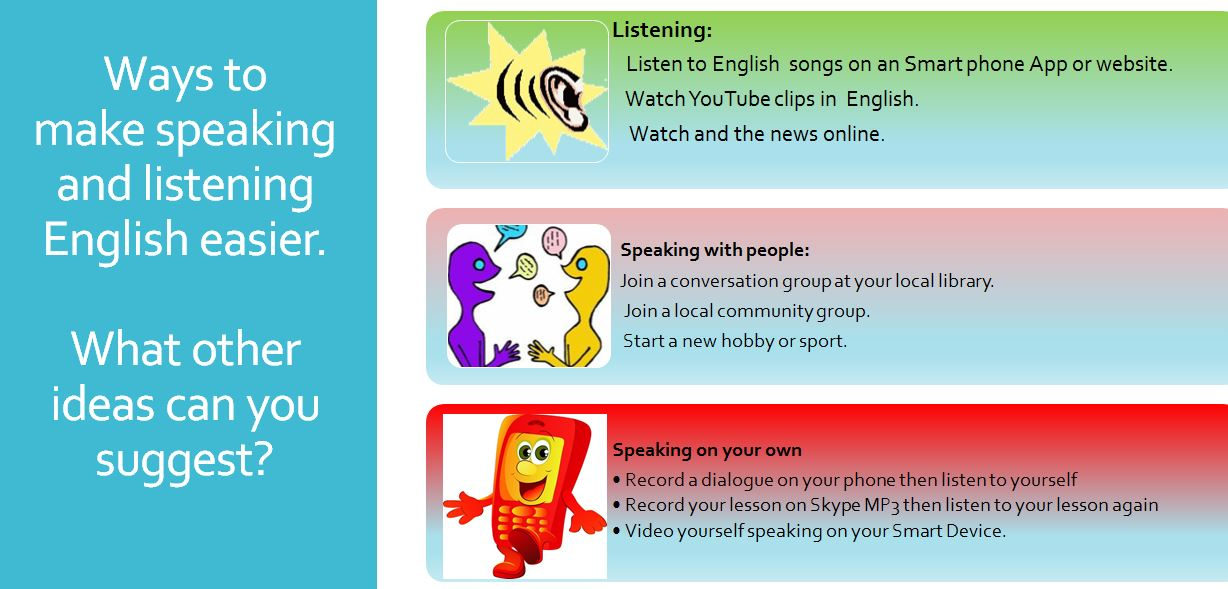 AMEP DISTANCE LEARNING: Ways to make learning English easier