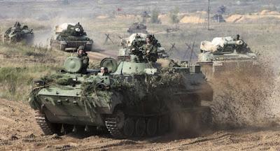 """РФ та Білорусь проходять масштабні військові маневри """"Захід-2017"""
