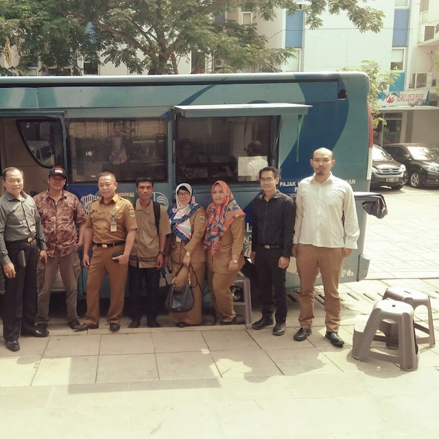 Samsat Keliling Bentuk Kepedulian Terhadap Pelayanan Masyarakat Kota Tangerang