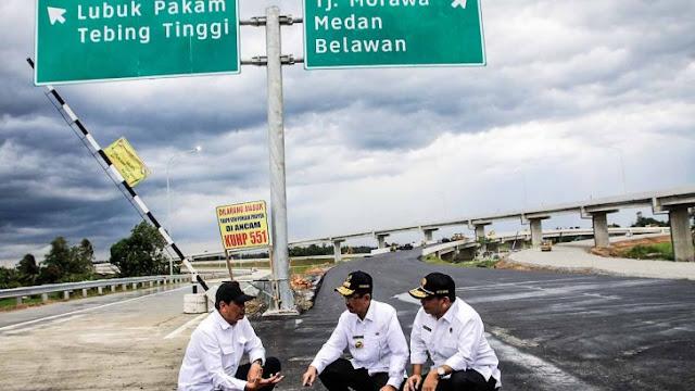 MANTAP! Untuk Arus Mudik & Balik Lebaran, Tol Kualanamu – Sei Rampah Dibuka Gratis