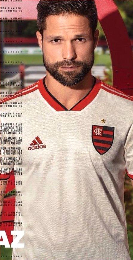 Vaza nova camisa branca do Flamengo 2018 2019  7d543081632c1