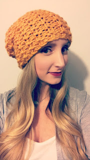 STATEMENT PURL HAT - MUSTARD