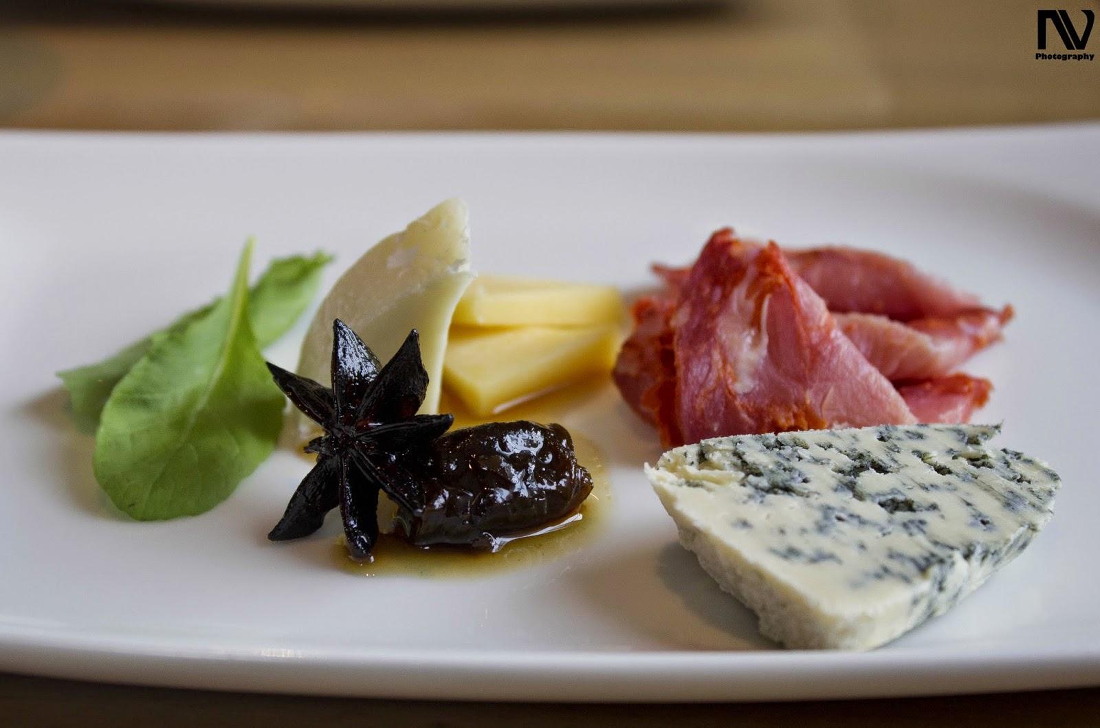 Meat and Cheese platter Kiyan