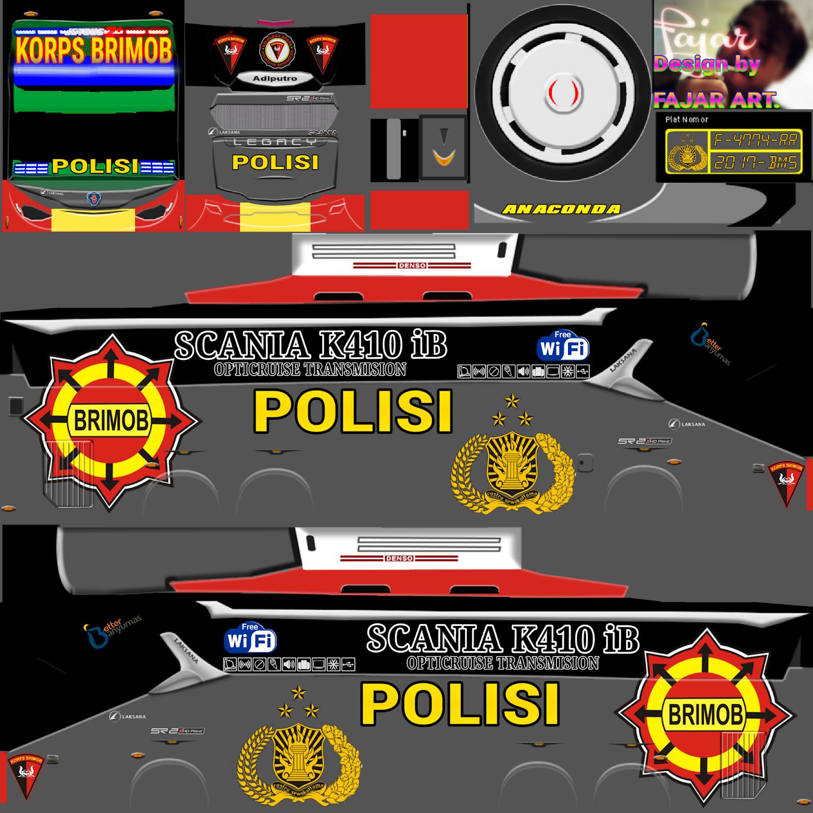 Livery Png Jernih Bus Simulator Indonesia Part 9 Semua Aja