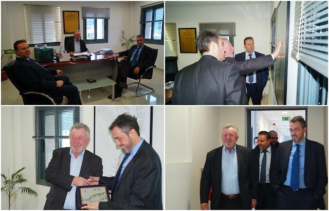 Επίσκεψη του Προέδρου του ΤΑΙΠΕΔ κ. Άρη Ξενόφου στον Ο.Λ.ΗΓ. (+ΒΙΝΤΕΟ)