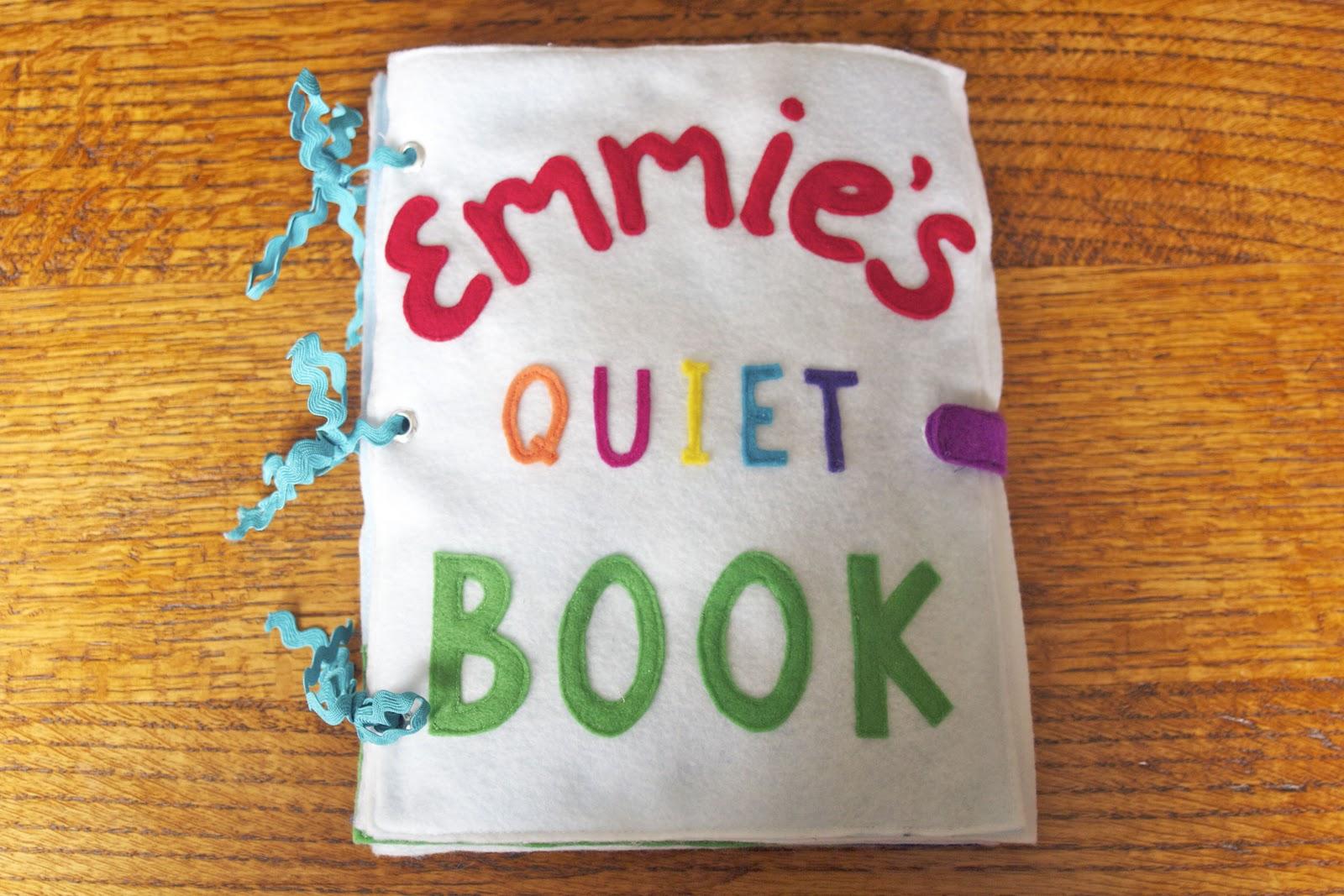 The Quiet Book - Girly Version | shoutingforha