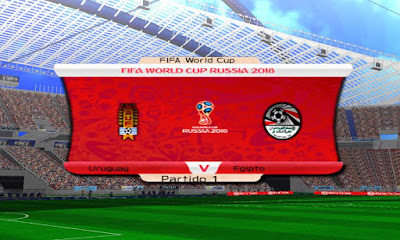 PES 6 Infinitty Patch 2018 FIFA World Cup Russia 2018