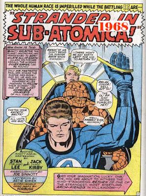 Fantastic Four 76 Galactus