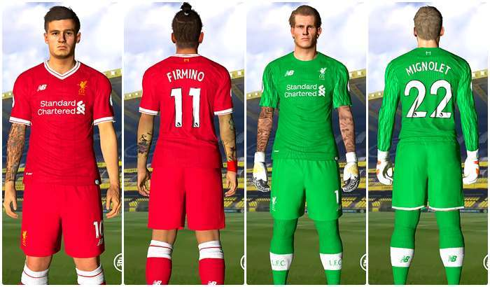 PES 2017 Liverpool Kits Leaked by Jet'da
