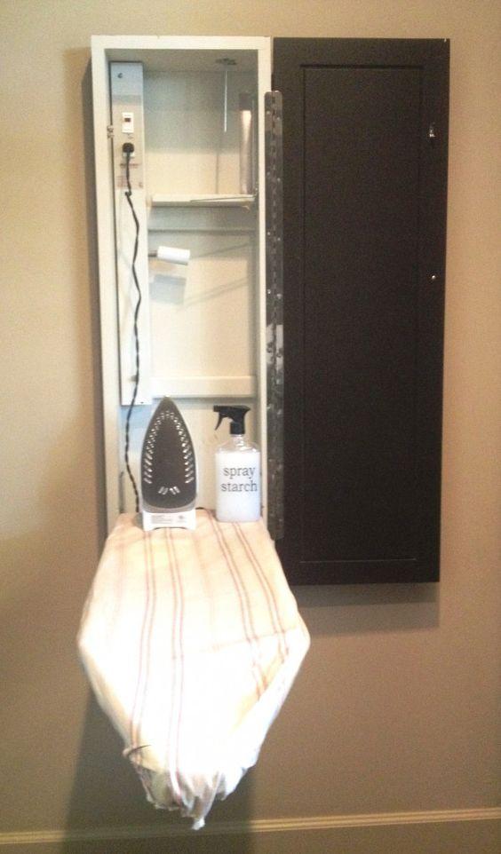 Arredamento e dintorni piccole lavanderie ordinate - Mobile da stiro ikea ...