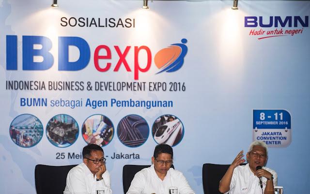 IBDExpo 2016 diramaikan 118 BUMN