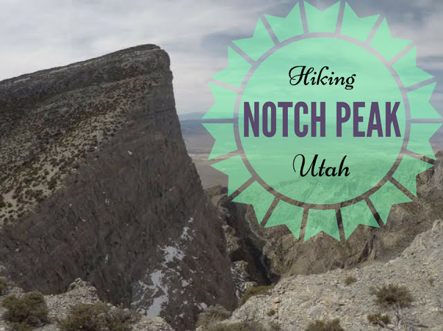 Hiking to Notch Peak, Utah